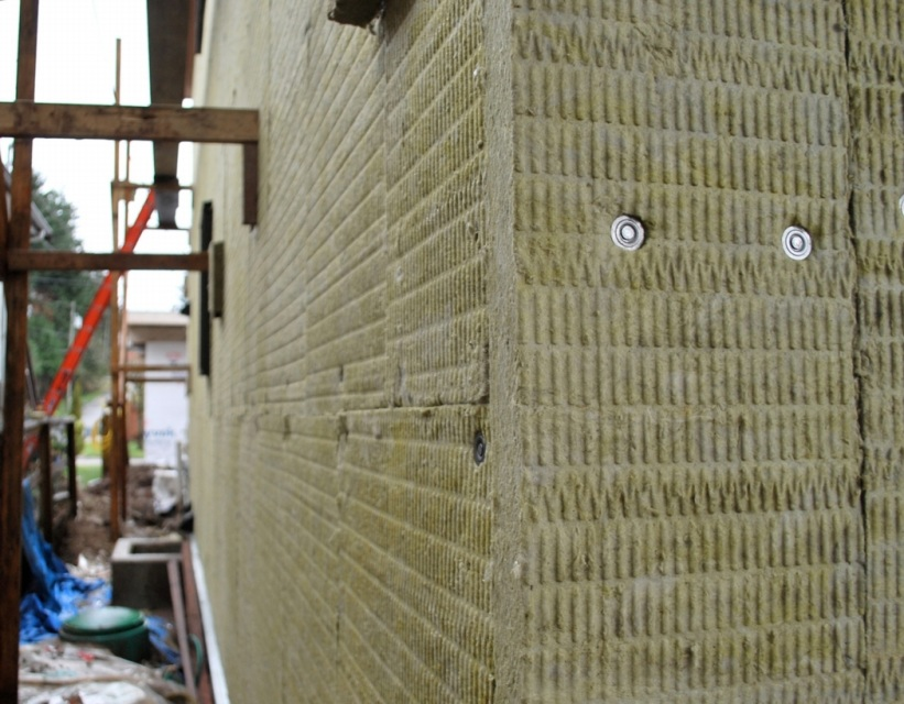 Roxul comfortboard is 80 for Mineral wool wall insulation